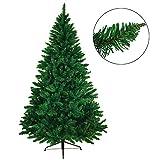BB Sport Árbol navideño árbol de Navidad Artificial Abeto en Diferentes tamaños y Colores, Color:Verde Oscuro, Longitud:180 cm (1.030 Puntas)