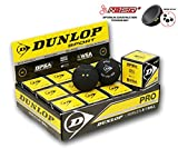 Palle squash dunlop pro - scatola 12 nuovo!