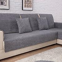 TT&CC Funda de sofá de Felpa,Orina Impermeable Antideslizante para Mascotas Perro bebé sofá Protector