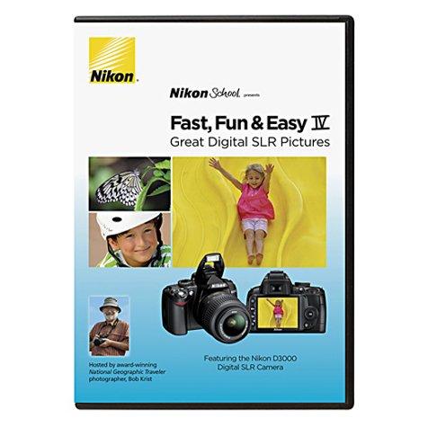 Nikon Schule DVD-Schnell, Macht Spaß, Einfach IV Sehr Digital SLR Bilder für D3000Kamera Nikon Dvd