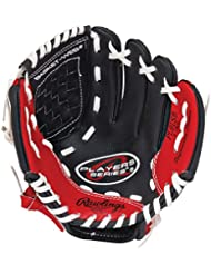 Rawlings Players (PL91SB) 9 Kids Baseball Glove with Baseball - Regular for Right Handed Throwers by Rawlings