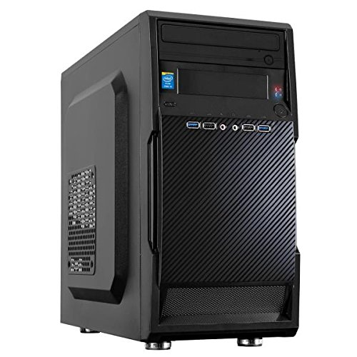 Nilox mini tower desktop pc, processore i5, memoria ram da 4 gb, ssd 240 gb