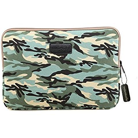 Black Friday Clearance sale-valentoria ® 15.6inch laptop sleeve case-boheimian elefante stile Custodia per Ultrabook MacBook Borsa per Acer/Asus/Dell/Toshiba/Lenovo/MacBook Pro/MacBook Air (15.6inch), colore: blu