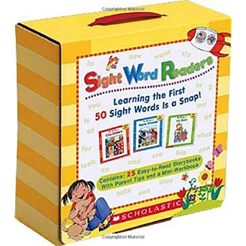 Sight Word Readers Boxed Set: Learning the First 50 Sight Words Is a Snap! [With Mini-Workbook] by Linda Ward Beech (1-Sep-2007) Paperback