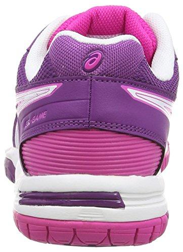 Asics Gel-game 5, Chaussures de Tennis Femme Rose (Pink Glow/White/Grape 3501)