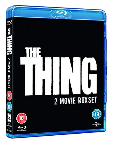 Thing (1982)/The Thing (2011) [Edizione: Regno Unito] [Italia] [Blu-ray]