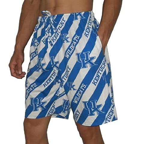 NCAA Kentucky Wildcats Mens Cotton Sleepwear / Pajama Shorts Medium Multicolor by NA