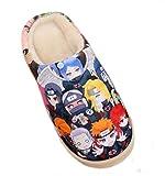 Bromeo Naruto Anime Super Doux Chaud Maison Chaussons Mignon Peluche Chaussures