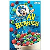Cap\'n Crunch\'s Oops All Berries Cereal 15.4 Oz (Set of 2)