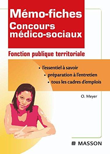 Mmo-fiches concours mdico-sociaux - Fonction publique territoriale