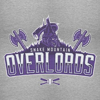 TEXLAB - Snake Mountain Overlords - Herren Langarm T-Shirt Grau Meliert