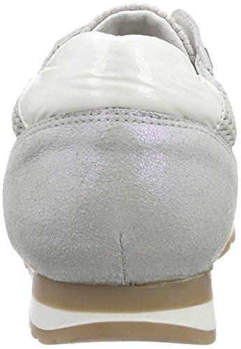 Brax Damen Schnürschuhe, Baskets Basses femme Blanc - Weiß (070 bianco)