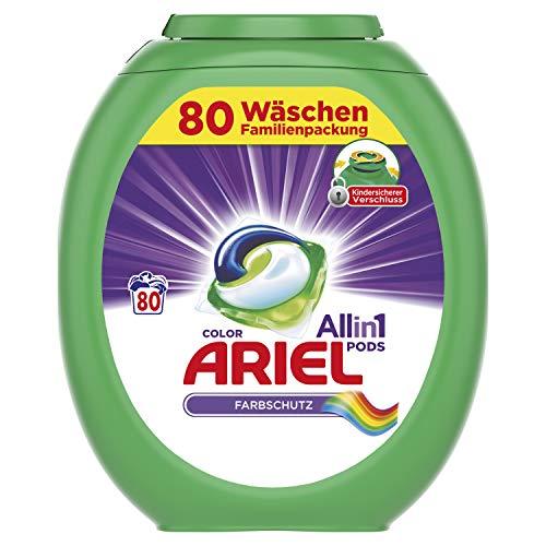 Ariel All-in-1 PODS Color Farbschutz, 80Waschladungen