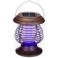 Longra Énergie solaire Lampes de tueur de moustique Lampe portative de  moustique électrique Lampe UV Tue 5bcf04d24c01