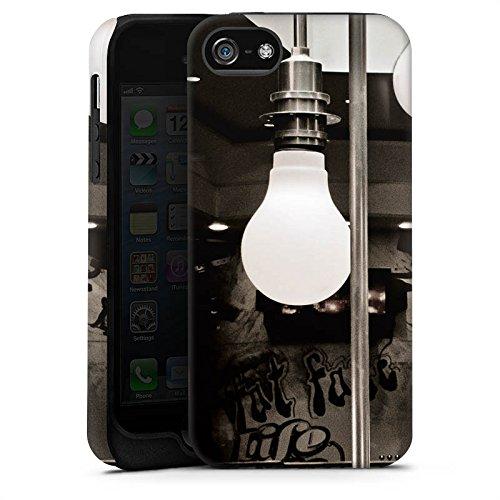 Apple iPhone X Silikon Hülle Case Schutzhülle Hängelampen Lampen Licht Tough Case matt
