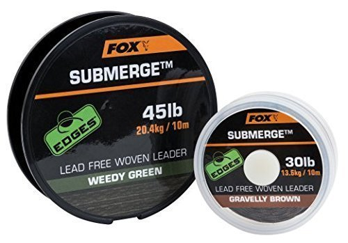 fox-submerge-30lb-lead-free-woven-leader-weedy-green-10m