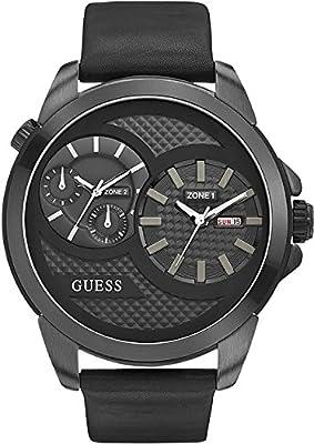 Guess Reloj de cuarzo Man W0184G1 Negro 55 mm de Guess