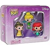 Funko - Pop! Los personajes de Disney Pack 3: Ariel, Bella y Campanilla