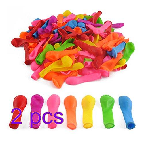 LDB SHOP Wasserbomben 1000 Stück Balloon Wasserbomben Selbstschließend Zufällige Bunt Farben