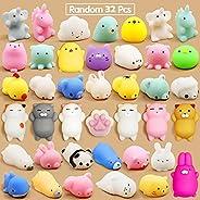 Mochi Squishy Mochi fidget Toys Mini Squishy Kawaii Animal Squishies Squeeze Toy Cat Squishy Stress Relief Toy