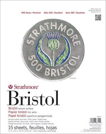 strathmore-500-bristol-vellumpapier-2-lagig-28-cm-x-355-cm