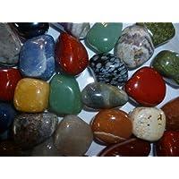 Halbedelsteine | Trommelsteine | bunte Mischung | Größe ca. 2-3 cm | 250 g-Beutel | incl. kleiner Broschüre preisvergleich bei billige-tabletten.eu