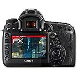 3 x atFoliX Anti-casse Protecteur d'écran Canon EOS 5D Mark IV Anti-choc Film Protecteur - FX-Shock-Antireflex