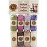 Lion Brand Yarn Company 1-Piece Bonbons, Nature, Multi-Colour