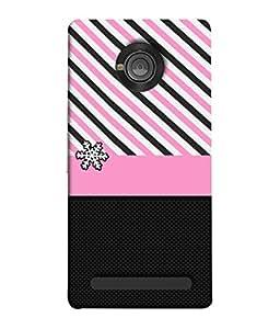 Fuson Designer Back Case Cover for YU Yunique (Love heart Girl Valentine Three Hearts)