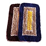 #6: AV Creations Cotton Designer Bathmat/DoorMat Small Rec.Premium Quality_Multi)set of 2