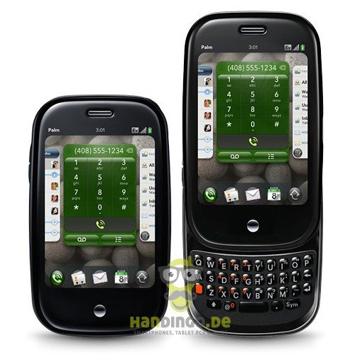 Palm Pre Smartphone O2 Branding schwarz Palm Handy