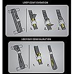 KKtick-10-pezzi-set-di-cinghie-di-fissaggio-cinghie-ideale-per-il-fissaggio-al-Portabici-Auto-Portapacchi-bicicletta-klemSchloss-cinghie-cinghia-di-ancoraggio-camping-Outdoor-2-m-Nero