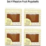 4 Paquetes De Popaball Fruto De La Pasión Burbujitas Por Prosecco Té Cóctel