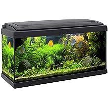 acquario accessoriato completo milo 80x30 93litri - Acquario Sistema Di Illuminazione