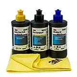 Nordex 3M Schleifpaste 80349 +50383+09375 mit Tuch