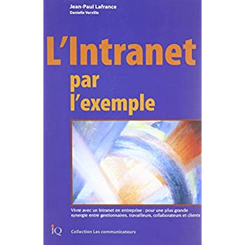 L'INTRANET PAR L'EXEMPLE