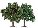 Busch 6649 - Modellismo ferroviario, Set di 2 alberi da frutta, 75 mm, scala H0/TT/N - Busch - amazon.it