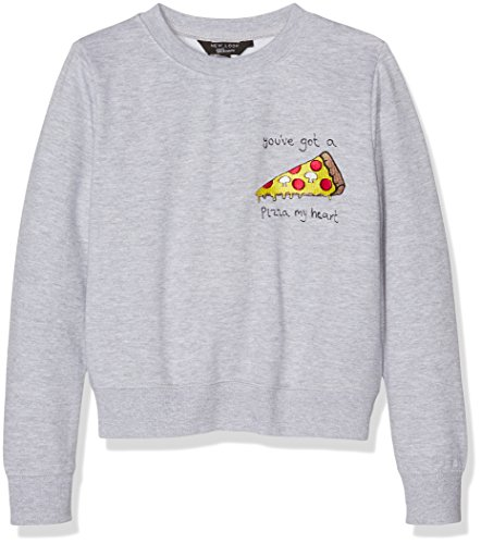 new-look-915-pizza-my-heart-felpa-bambina-grey-mid-grey-10-11-anni