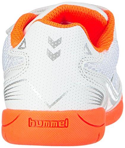 hummel HUMMEL ROOT Unisex-Kinder Hallenschuhe Weiß (White 9001)