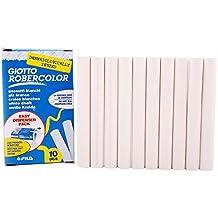 Robercolor 538700 - Caja de 10 tizas, color blanco