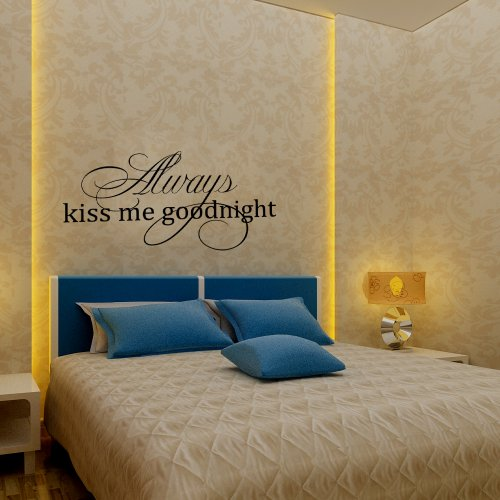 adesivo-da-parete-in-vinile-inglese-scritta-always-kiss-me-good-night-vinile-nero-22-x44