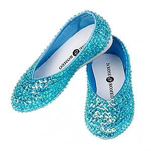 Rose & Roméo-111053Lilly-Zapatillas-Azul-Talla 30