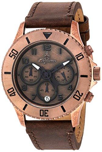 Burgmeister - BM532-955-1 - Montre Femme - Quartz - Chronographe - Bracelet cuir Marron