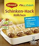 Maggi fix & frisch für Schinken-Hack Röllchen, 42er Pack (42 x 31 g)