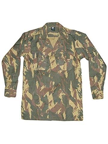 Portugais Portugal de l'Armée coton Champ Jungle Camouflage Militaire pour
