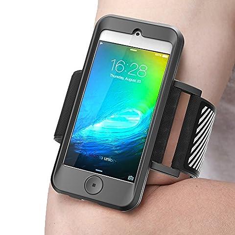 Housse SUPCASE pour iPod Touch 6eme Generation [Serie Armband] Brassard sportif avec etui flexible pour iTouch 6 Generation