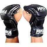 Tofern gants de boxe de Bandage en cuir, sac lourd sparring MMa sac de frappe des gants