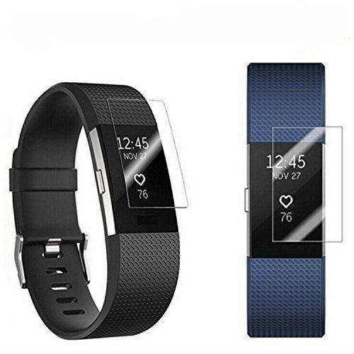 Superior ZRL® Ultra-Thin HD Screen Protectors Cover Guard flim staubdicht wasserdicht für Fitbit Charge 2 -