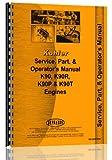 Bolens 20HD-2 Lawn & Garden Kohler Engine Service Manual
