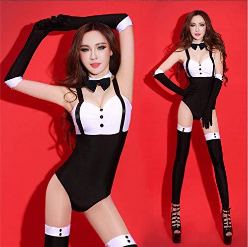 AISHUAIGE Europäische und amerikanische Nachtclub sexy dj Kragen tanzkostüm Jazz tanzkostüm sängerin Anzug bar ds Coole kostüme Overall